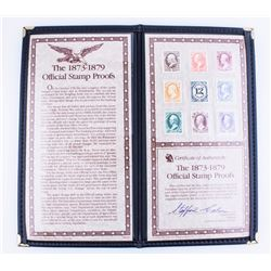 1873-1879 Stamp Proofs Complete Type Set