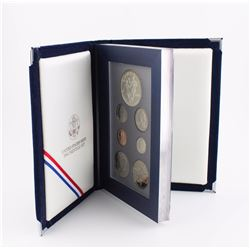 1994 U.S. Prestige Proof Set With World Cup Soccer Commem. Silver Dollar