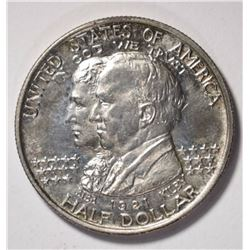 1921 ALABAMA COMMEM HALF DOLLAR, CH BU