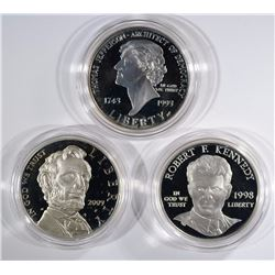 Set of 3 Commemorative Sets