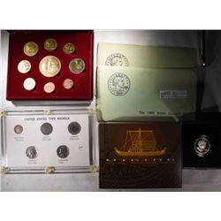 LOT: 1979 & 1980 SBA DOLLAR SOUVENIR SETS;