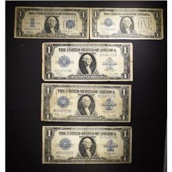 CURRENCY LOT:1934 $1.00 FUNNYBACK SILVER CERT