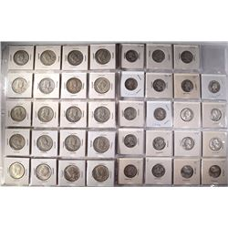 $14.75 FACE VALUE 90% SILVER, QUARTERS & FRANKLIN,
