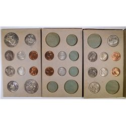 ORIGINAL DOUBLE 1955 MINT SETS -