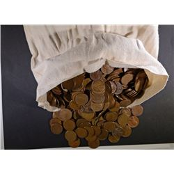 5000 Mixed Date Circulated Wheat Cents