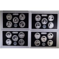 U.S. SILVER QUARTER PROOF SETS; 2015,