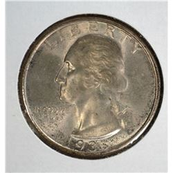 1935 WASHINGTON QUARTER CH.BU