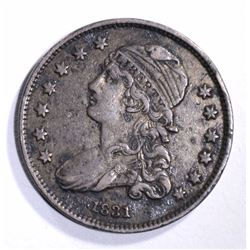 1831 CAPPED BUST QUARTER XF