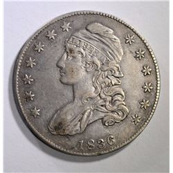 1836 CAPPED BUST HALF DOLLAR VF-XF
