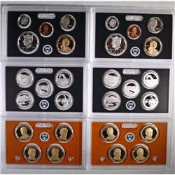 (2) 2014 United States Mint Silver Proof Set