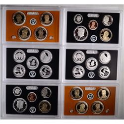 (2) 2015 United States Mint Silver Proof Sets.