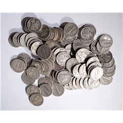 $10 FACE VALUE 90% SILVER MERCURY DIMES
