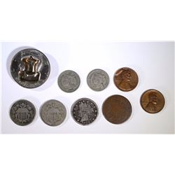 COIN COLLECTOR LOT: