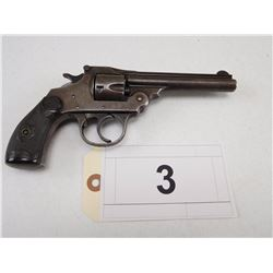 IVER JOHNSON , MODEL: 3RD MODEL SAFETY AUTOMATIC HAMMER  , CALIBER: 32 S&W