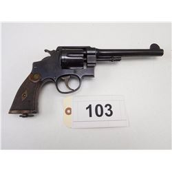 S & W , MODEL: 455 HAND EJECTOR MK II  MODEL II  , CALIBER: 455 REV