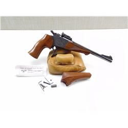 THOMPSON CENTER , MODEL: CONTENDER , CALIBER: 357 MAG