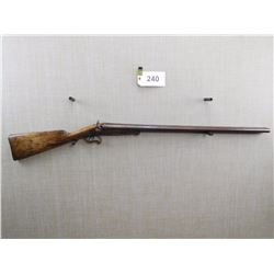 UNKNOWN  , MODEL: MULTI BARREL SHOTGUN , CALIBER: 12GA