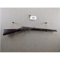 WINCHESTER , MODEL: 1873 SADDLE RING CARBINE , CALIBER: 44 - 40