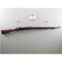 WAFFENFABRIK MAUSER , MODEL: SWEDISH MAUSER 1896/99 , CALIBER: 6.5 X 55 SWEDISH MAUSER