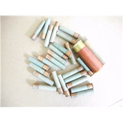 ASSORTED LOT OF PAPER SHOTGUN SHELLS VARIOUS SIZES