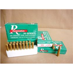 REMINGTON 223 55 GR PTD SOFT POINT CF