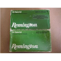 REMINGTON 38 SPL 158 GR LEAD CF