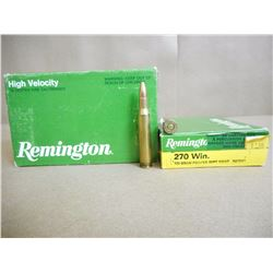 REMINGTON 270 WIN 100 GR SOFT POINT