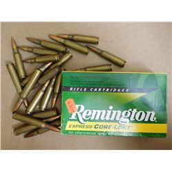 ASSORTED LOT OF AMMUNITION INCLUDING .303 BR, 7.62 X 51 NATO , VARIOUS