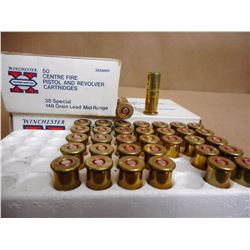 WINCHESTER 38 SPECIAL RELOADS