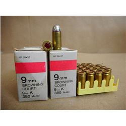LELLIER & BELLOT 9MM BROWNING COURT