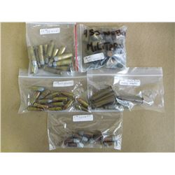 ASSORTED LOT OF AMMO INCL. 38 RF, 380 REVOLVER, .455 WEBLY , 38 WCF AND BLACK POWDER BLANKS 1942/43