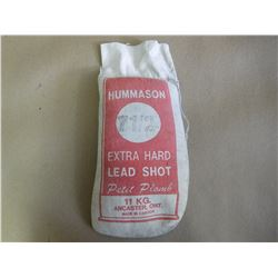 HUMMASON 7 1/2 EXTRA HARD LEAD SHOT (SEALED)