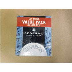 FEDERAL .22 LONG RIFLE RIMFIRE AMMO