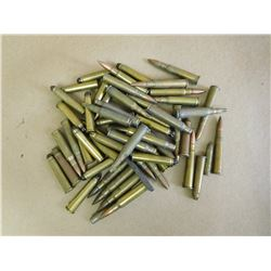 ASSORTED RIFLE ROUNDS, INCLUDING .303 BLANKS  SEE PICTURE