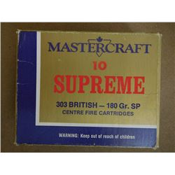 MASTERCRAFT SUPREME 303 BRITISH 180 GR