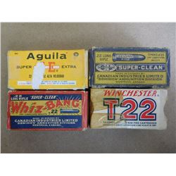 ASSORTED LOT OF 22 LONG RIFLE INCLUDING WESTERN XPERT AND CIL SUPER-CLEAN