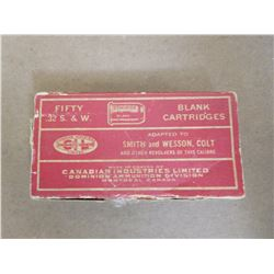 DOMINION .32 S & W BLANK CARTRIDGES