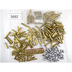 ASSORTED BRASS & BULLETS