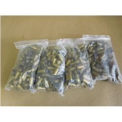 ASSORTED 9 MM BRASS CASINGS