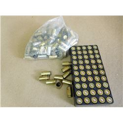 ASSO0RTED LOT OF 9MM LIUGER CASINGS