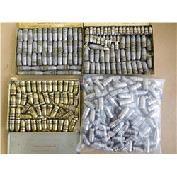 ASSORTED LOT OF LEAD BULLETS INCL .447, 446,  43 MAUSER, .310 CAL