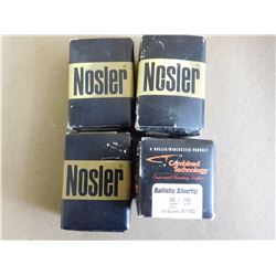 ASSORTED LOT OF NOSLER .30 CAL/ 150-180  GRS 270 CAL  150 GRS BULLETS