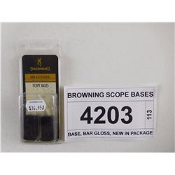 BROWNING SCOPE BASES