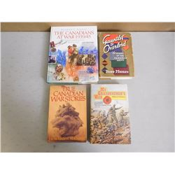 CANADIAN WAR BOOKS