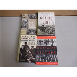 ASSORTED CANADIAN MILITARY BOOKS