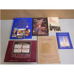 ASSORTED REMEMBRANCE BOOKS