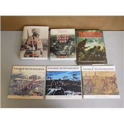 ASSORTED CANADIAN WAR BOOKS