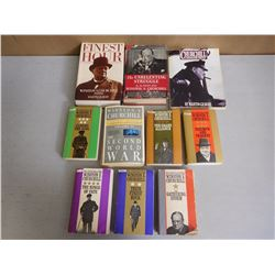 WINSTON CHURCHILL BOOKS
