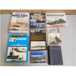 ASSORTED NAVY BOOKS