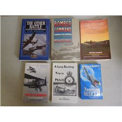 ASSORTED WAR SOFT COVER BOOKS